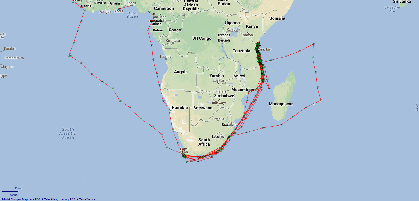 JP map Challenger Southern Africa