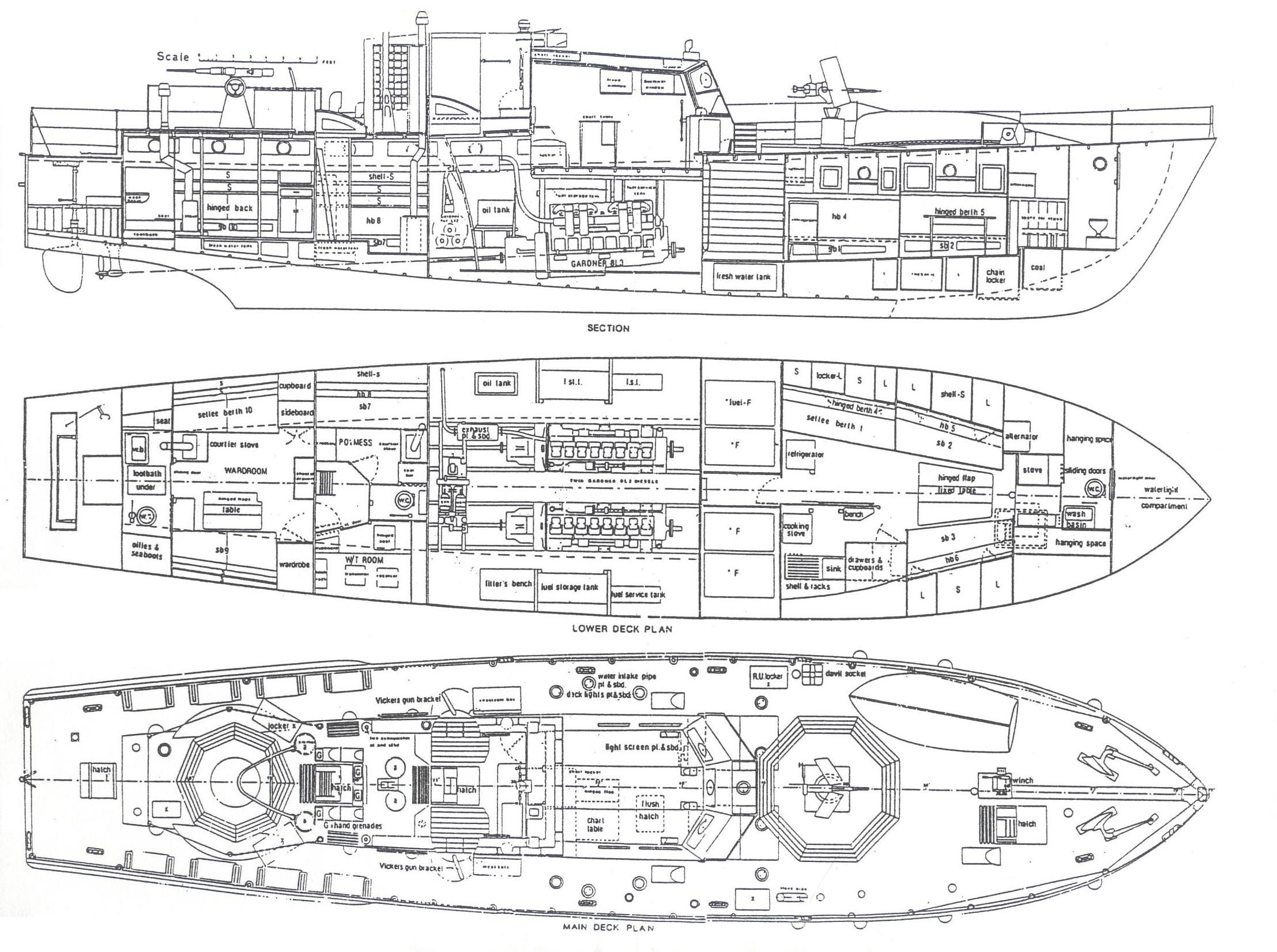 Ships Blueprints http://www.blueprintshut.com/-al-ross-conway-maritime-press-1990-an-excellent-source-for-more/naval-history.net*WW2Ships-HDML1001-01Plans.JPG/