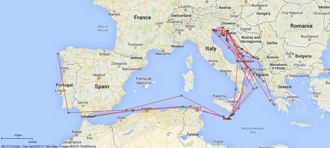 Hms cardiff light cruiser british warships of world war 1 jp map cardiff mediterranean publicscrutiny Image collections