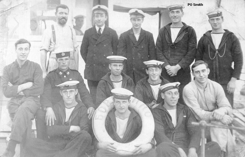 HMS Vanquisher Baltic Sea 1921 including Curacoa deaths