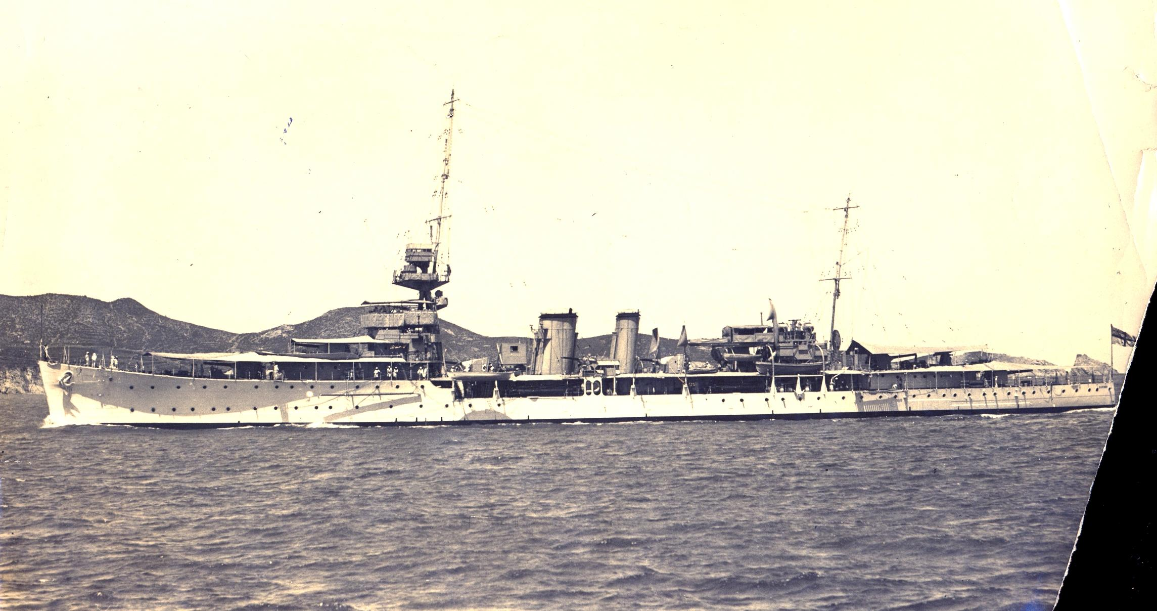 HMS Durban - date and location not unknown